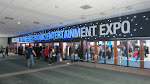 The very wide entrance to E3 - better have your badge!