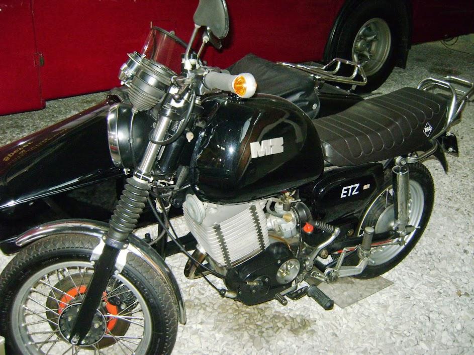 Das einzige DDR Motorrad, was ich im Museum entdeckt habe