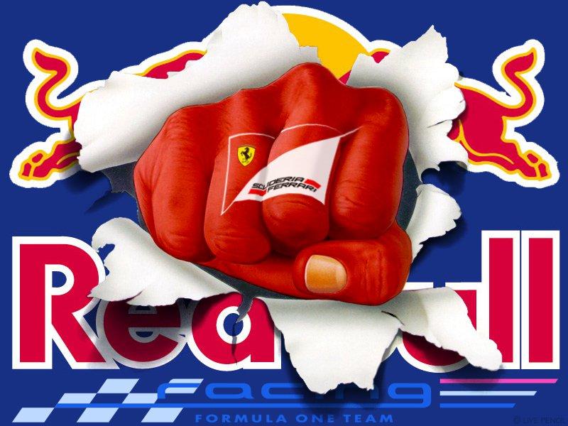 Ferrari пробивает Red Bull