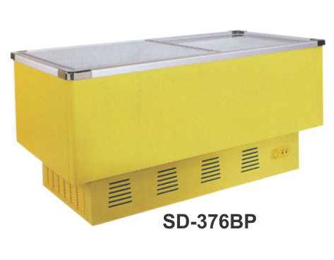 Mesin Pemajang Es Cream Kaca Datar (Sliding Flat Glass Freezer) Kapasitas 300 Liter : SD-376BP