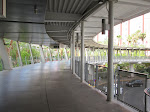 The walk to the Flamingo Monorail station