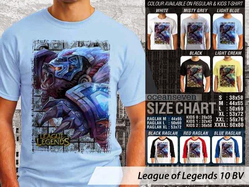 Kaos Game Online League of Legends 10 distro ocean seven