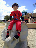 Eidan at the Balboa Park playground