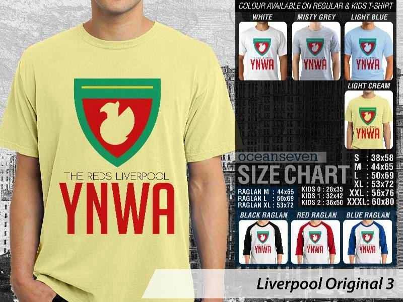KAOS Liverpool 31 Logo Klub Bola distro ocean seven