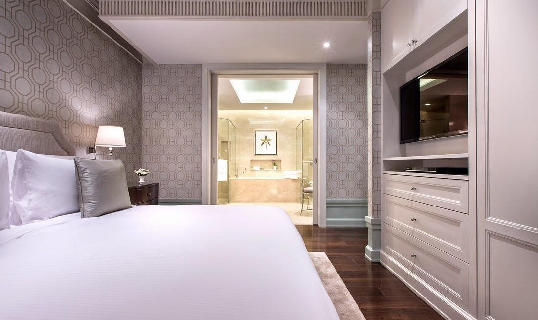 曼谷東方公寓 (Oriental Residence Bangkok)一臥室套房-睡房空間非常充足