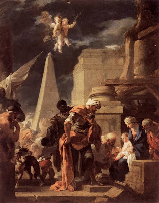 Sébastien Bourdon - Adoration of the Magi