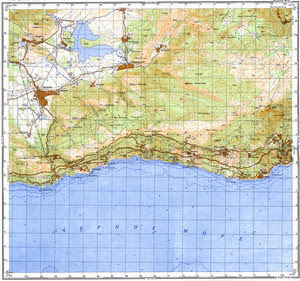 Map 050k--l36-128-4--(1975)