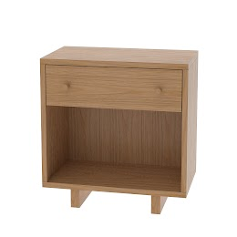 Parsons Nightstand with Shelf