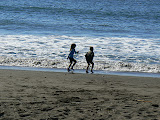 Playing Tag With The Waves, Muir Beach, California