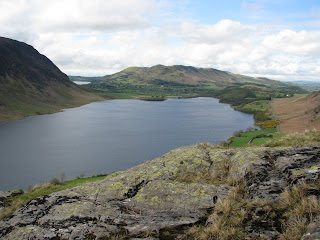 Crummock Water from Rannerdale Knotts