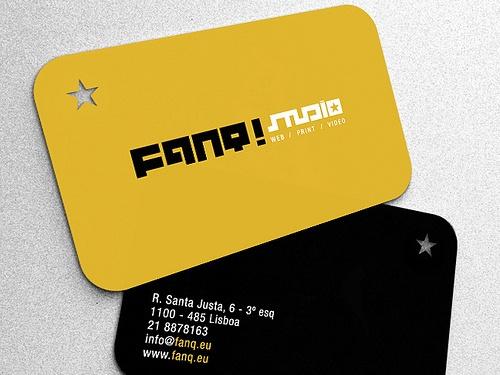 Cartão de visita Fanq Studio