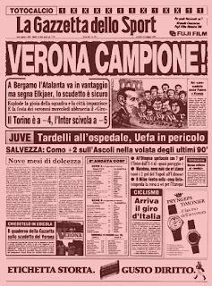 Hellas Verona campeón de Italia