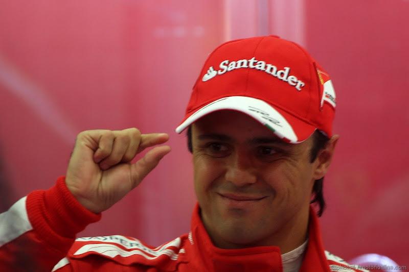 Фелипе Масса чуть-чуть на Гран-при Бельгии 2013