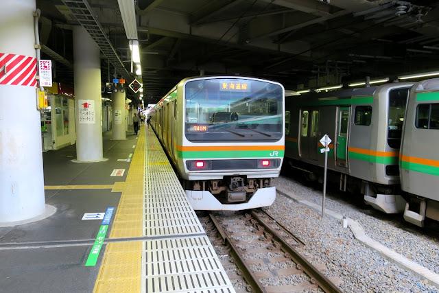 東海道本線 品川駅