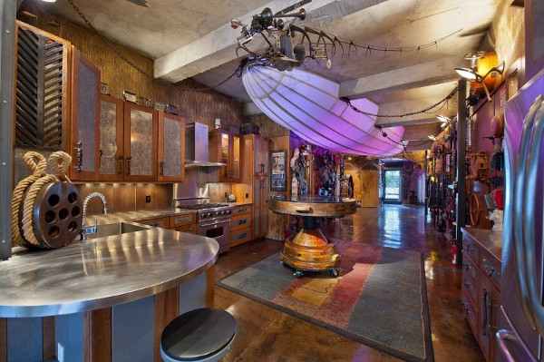 Cool Steampunk Apartment Seen On www.coolpicturegallery.us