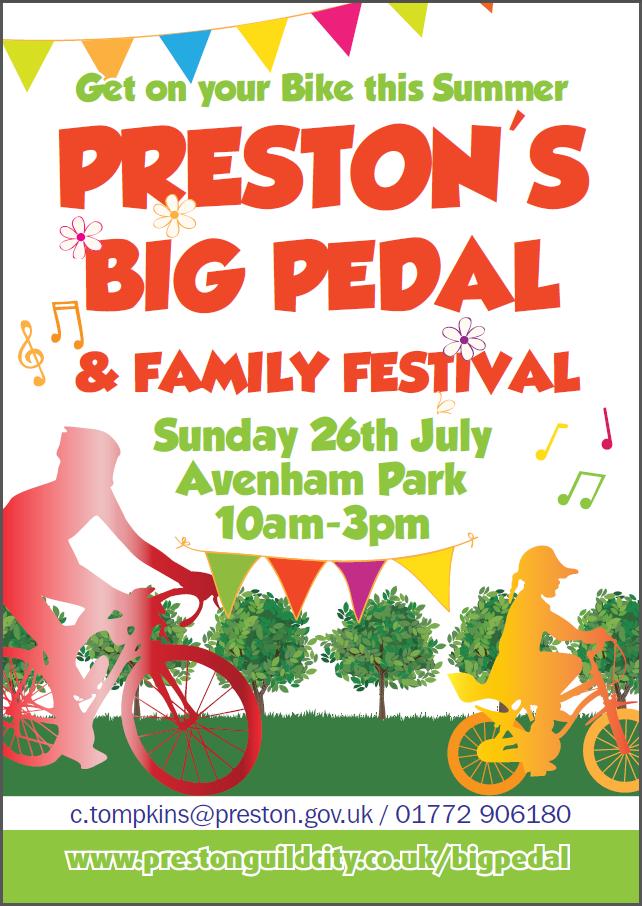 Preston's Big Pedal & Family Festival