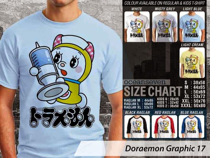 KAOS Doraemon 57 Manga Lucu distro ocean seven