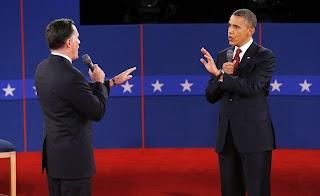 【高清组图】美国总统大选举行第二次辩论