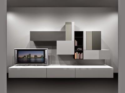 mueble de salón a medida modular