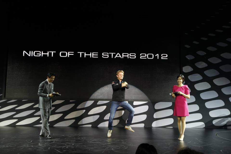 Нико Росберг Gangnam Style перед Гран-при Кореи 2012
