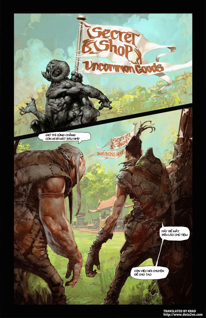 Comic DotA 2: Chúng ta đã là những anh hùng chưa (1)