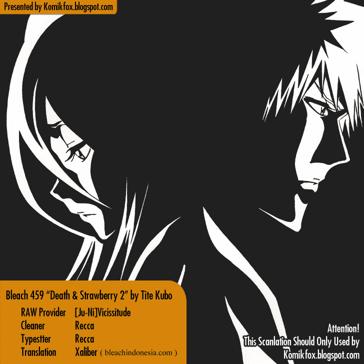 bleach ch459 00 Bleach 459   Death and Strawberry 2
