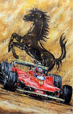 Жиль Вильнев Gladiatore - картина Art Rotondo