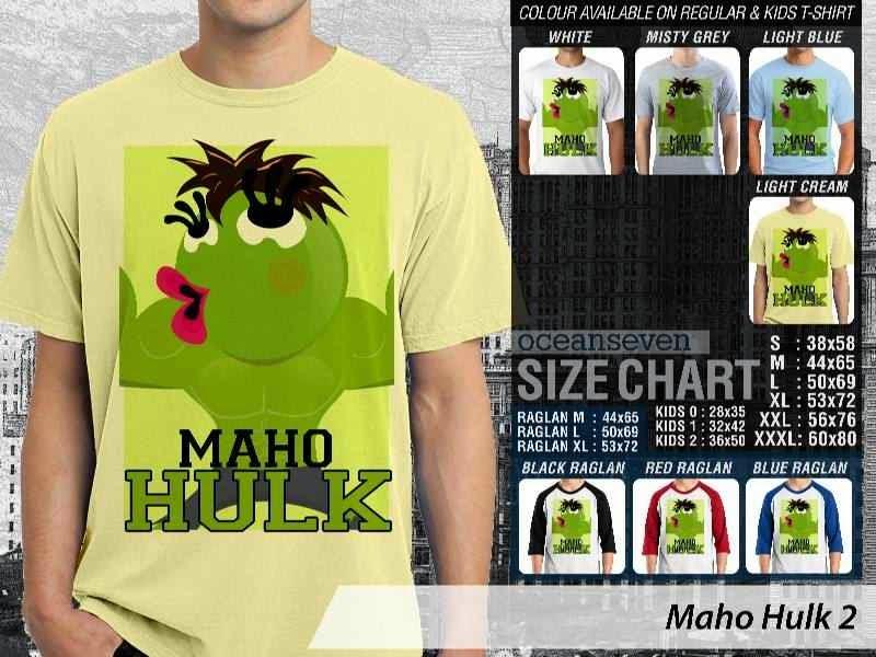 Kaos Maho Hulk distro ocean seven