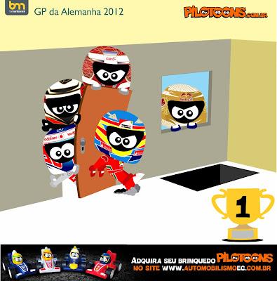 pilotoons по Гран-при Германии 2012