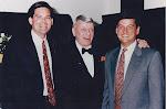 Hank Miller, Lewey Burney, and Frank Sinatra