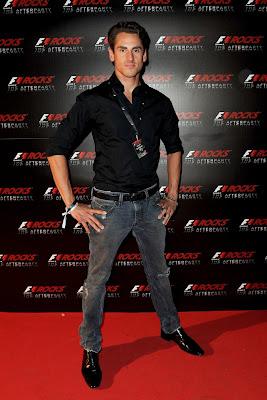 Адриан Сутиль на F1 Rocks в Милане после Гран-при Италии 2011