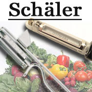 Westmark Famos Sparschäler Edelstahlschäler Spargelschäler Gemüseschäler Apfelschäler. Gemüse schälen, Obst schälen, Spargel schälen.
