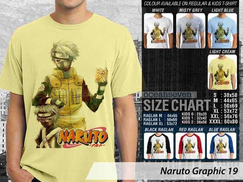 Kaos Distro Naruto 19 Manga