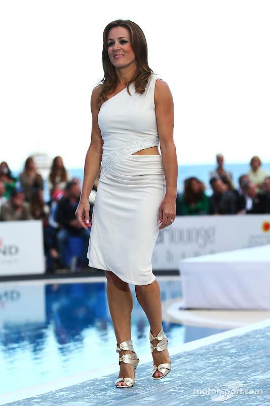 Натали Пинкхэм на Amber Lounge Fashion Show на Гран-при Монако 2013