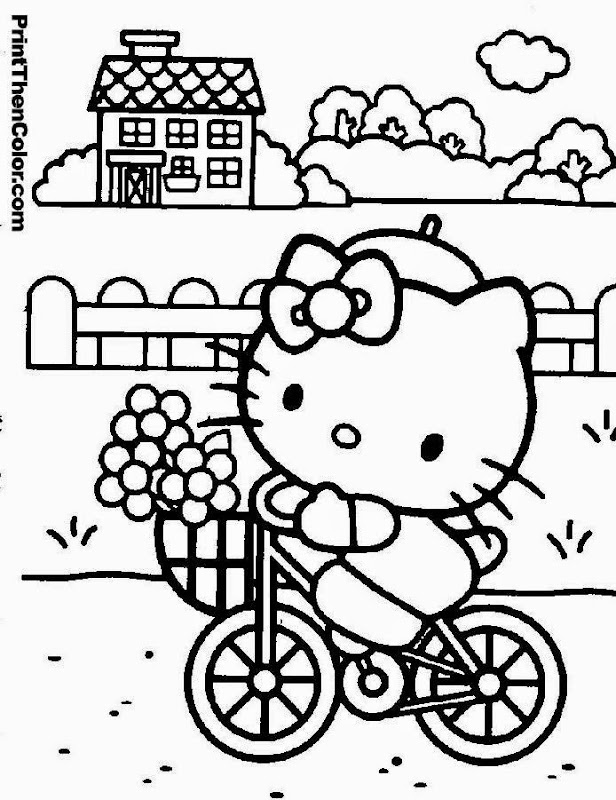 Free Online Colouring Pages For Kids - free online coloring pages to print