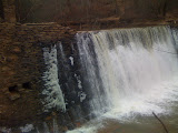 Vickery Falls With Snow
