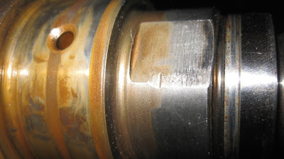 Nissan RB Crankshaft Worn oil Pump Drive