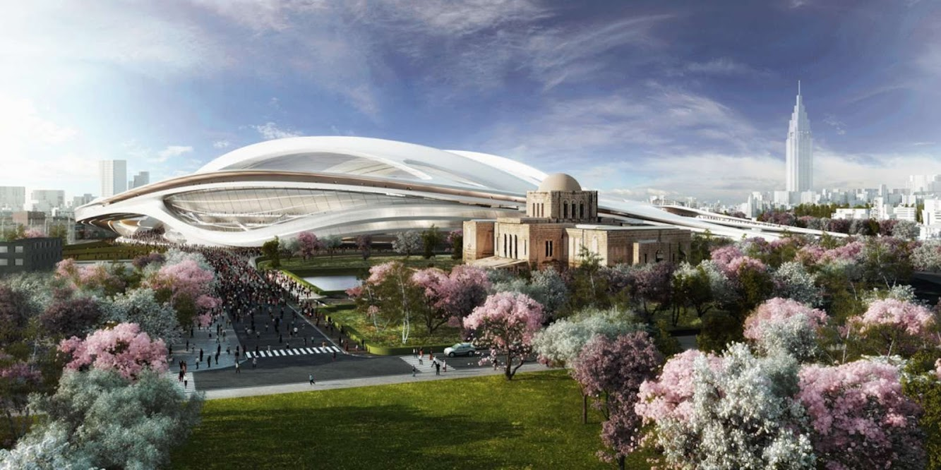 New National Stadium by Zaha Hadid