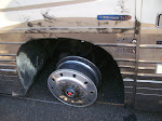 Our bus blew a tire...very scary