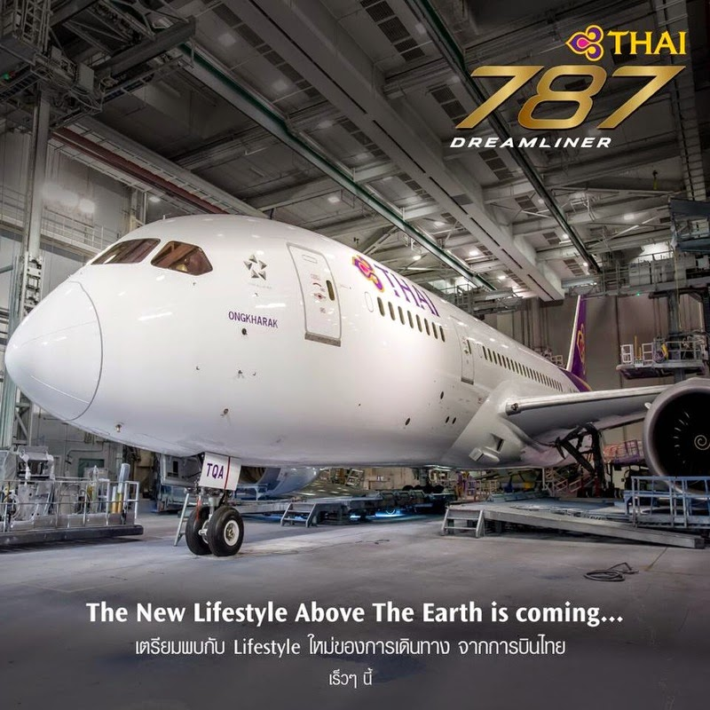 Thai Airways 787