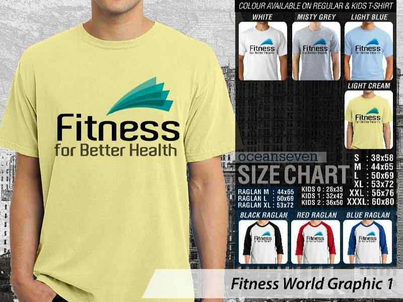 KAOS Fitness for Better Health Fitness & Gym Series distro ocean seven