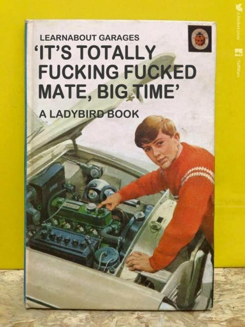 A book about Brittish cars