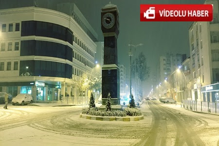 Kar Akşam Saatlerinde Çankırı'da Etkili Olmaya Başladı