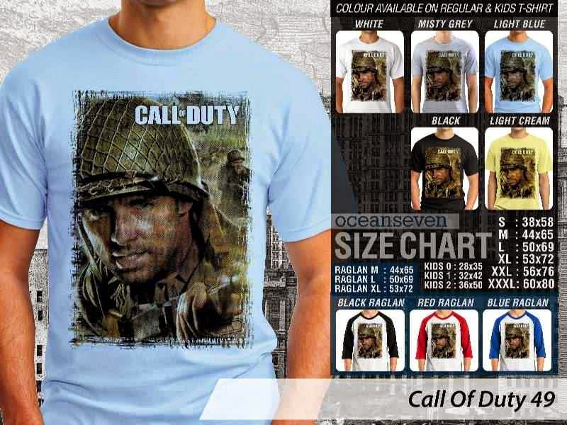 KAOS cod Call Of Duty 49 Game Series distro ocean seven