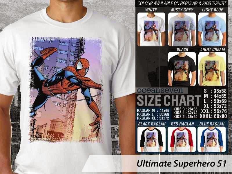 KAOS spiderman 51 Ultimate Superhero distro ocean seven