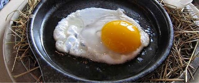 sağanda yumurta