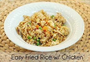 Fried Rice w/ Chicken