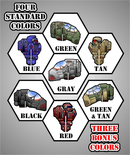 Mech Factory Battle Colors