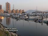 不知道是否因為臨近遊艇展覽,所以才有這麼多遊艇停泊?