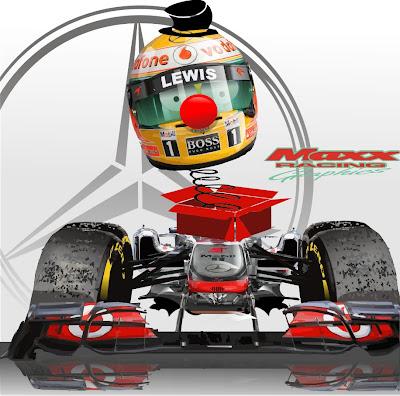 пилот McLaren Льюис Хэмилтон в сезоне 2011 - Maxx Racing